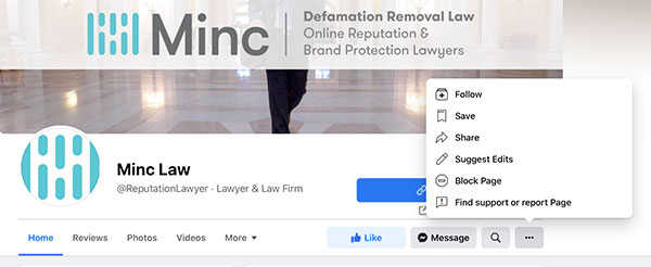 How to report a profile or page on Facebook